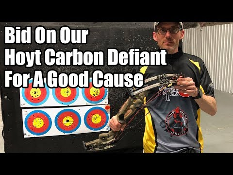 Bid on Our Hoyt Carbon Defiant For a Good Cause