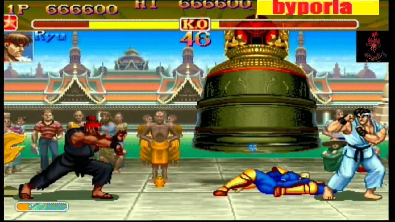 How To Play As Akuma In Street Fighter 2 Turbo