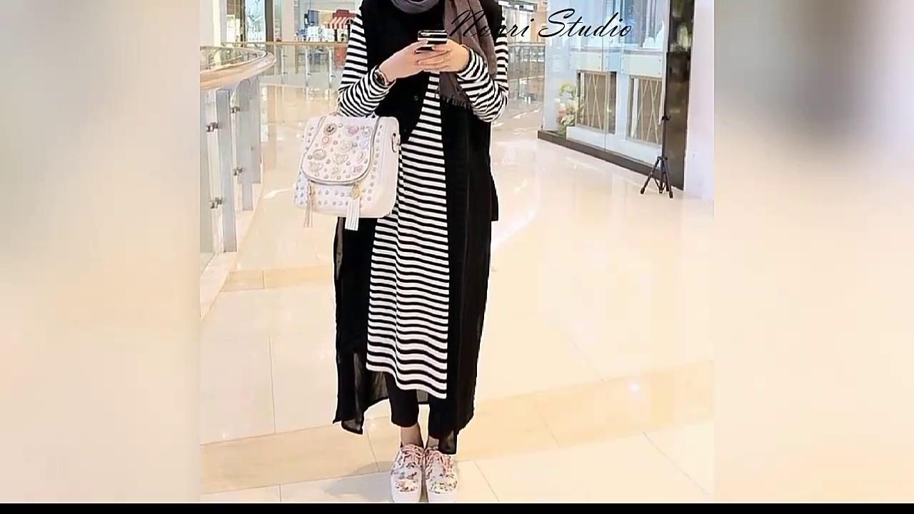 bdb6f4355f314 أزياء محجبات موضه صيف 2017 إستايل summer fashion - YouTube
