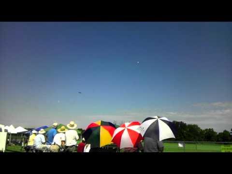RC plane air show in Grand Ledge, Michigan.