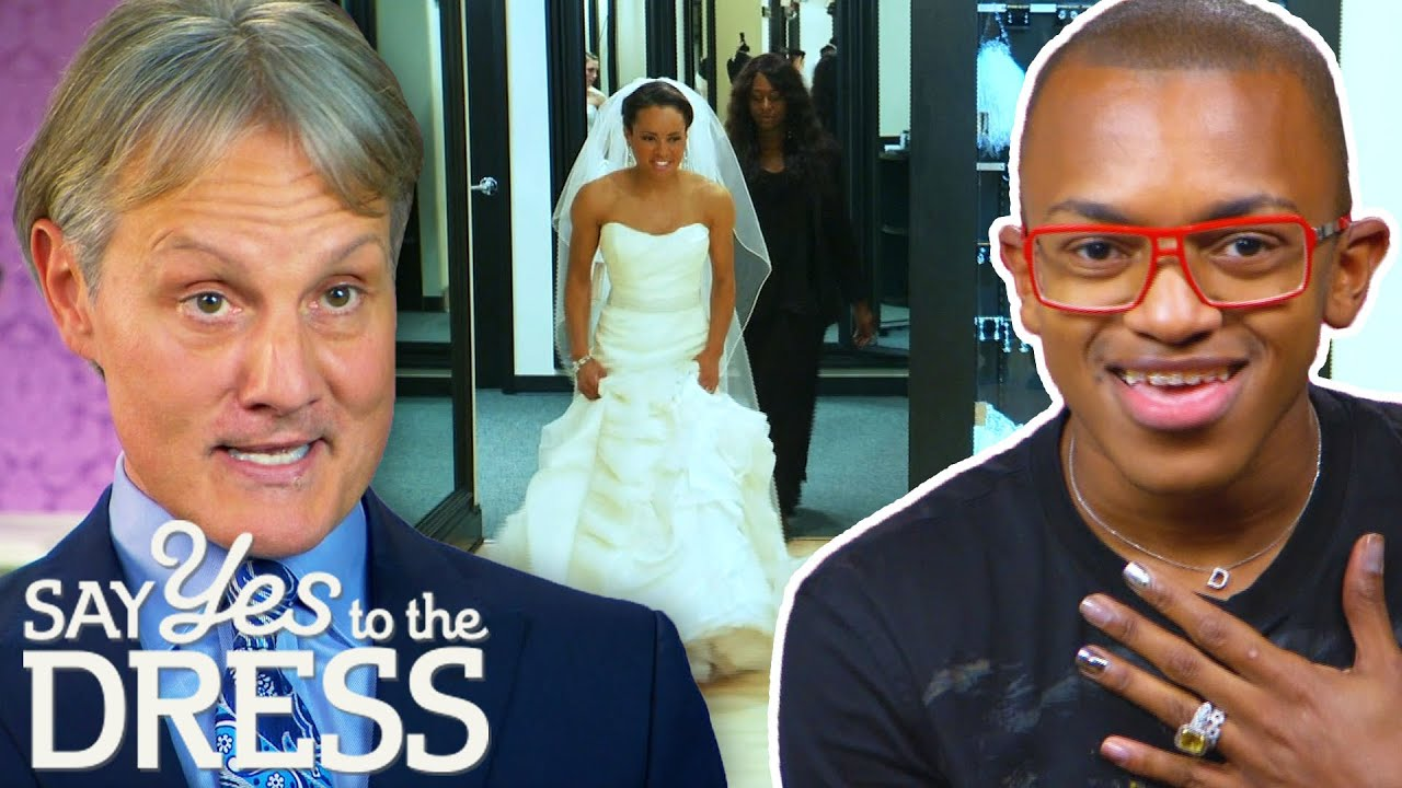 Entourage Wants Dress That Combines Grace Jones' And Beyoncé's Styles | Say Yes To The Dress Atlanta