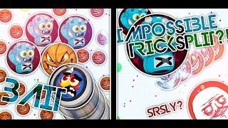 Agar.io Guest Video by Midnight - Impossible Tricksplit???