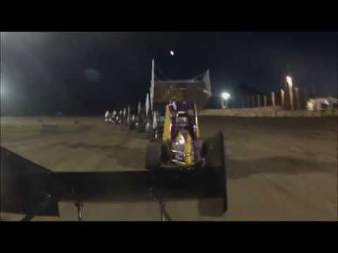 Brandon Sletten - Micro Sprint Feature - Wilmot 7-13-13