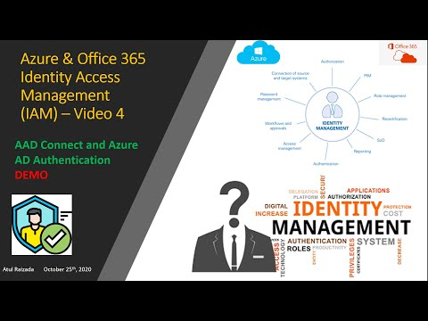 Identity Access Management - AAD Connect Demo (Video4)