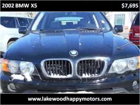 2002 bmw x5 used cars lakewood co youtube for Happy motors inc lakewood co