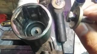 Mazda 626 GE 2.0 FS Відновлення шліцьового з'єднання привода за допомогою голок