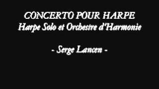 Concerto pour harpe - Serge Lancen -