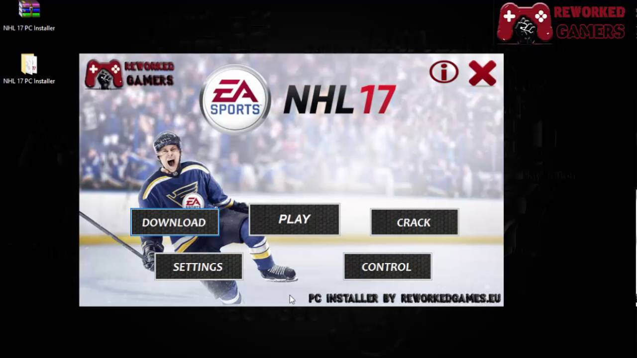 nhl 17 pc download iso image youtube. Black Bedroom Furniture Sets. Home Design Ideas