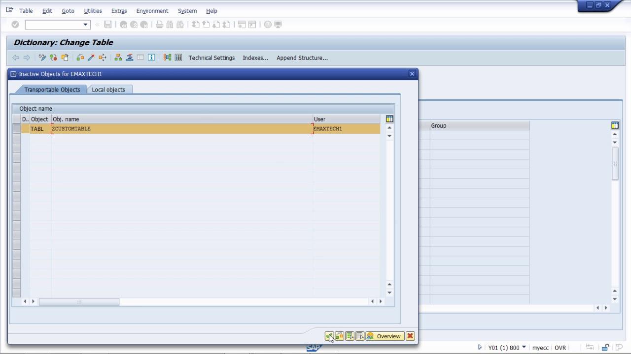 Dictionary pdf data abap