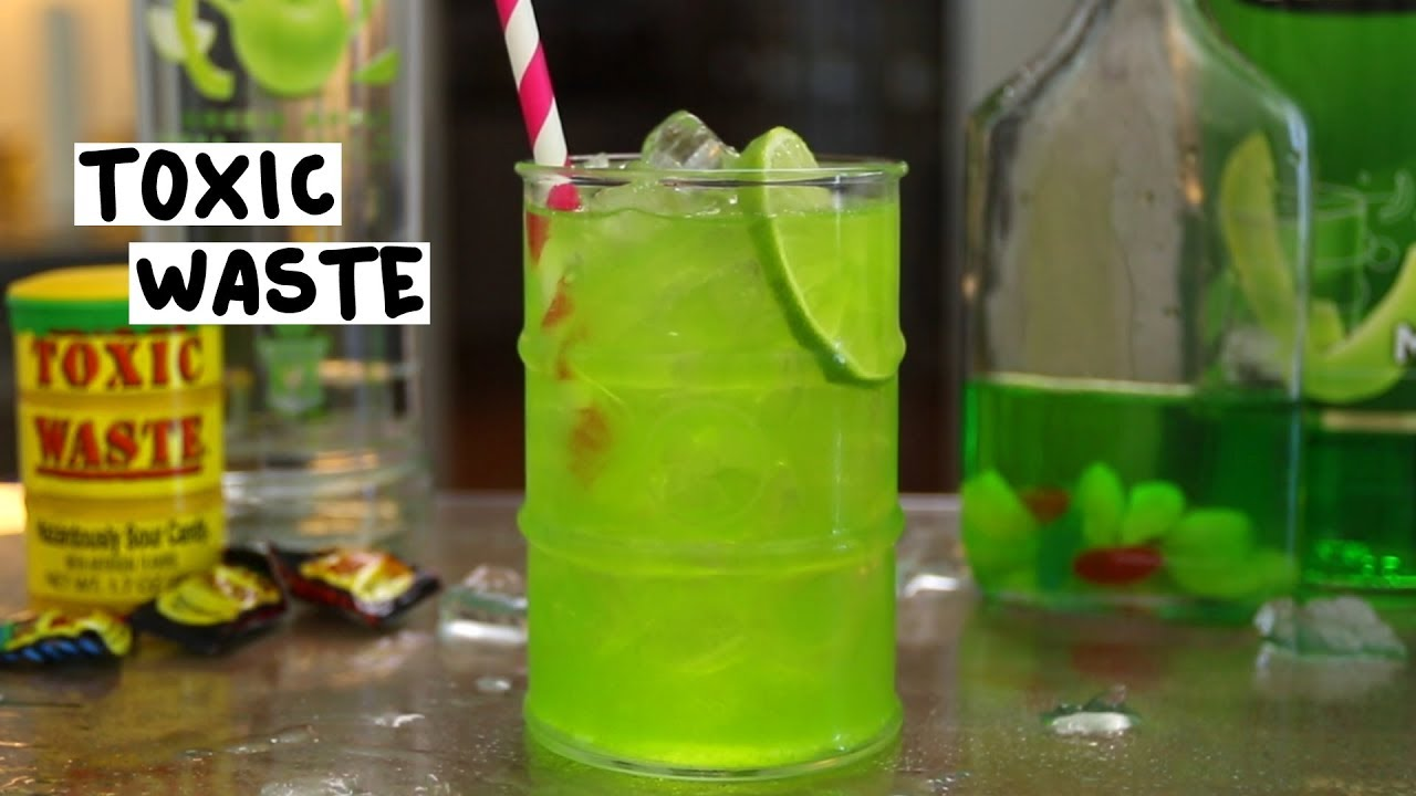 Toxic Waste Tipsy Bartender