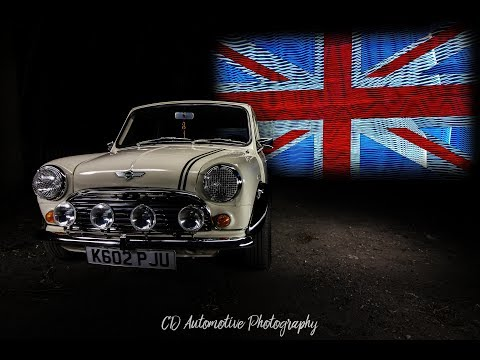 Classic Mini Light Painting Time Lapse