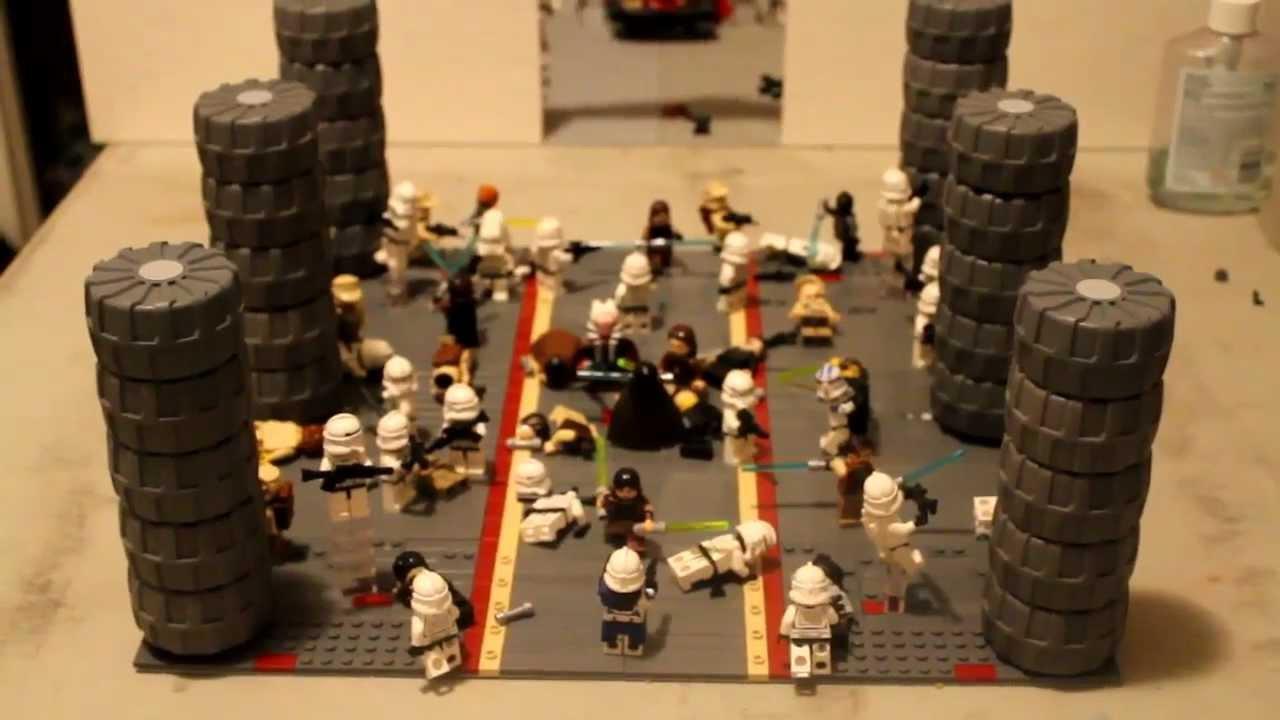 Lego Star Wars Episode Iii Revenge Of The Sith Operation Knightfall Moc Youtube