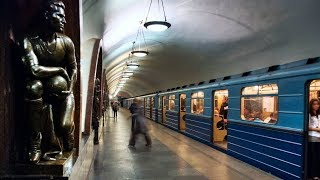 Russian Metro Train - Russia | World Deepest & Beautiful Metro System