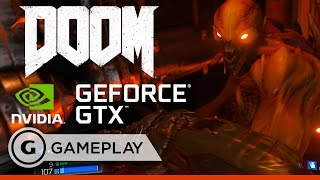 DOOM on NVIDIA GeForce GTX Titan X -  Official Gameplay