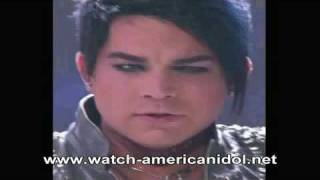 Adam Lambert - Whole Lotta Love by Led Zeppelin - American Idol Top 4 - HD Version - Susan Boyle