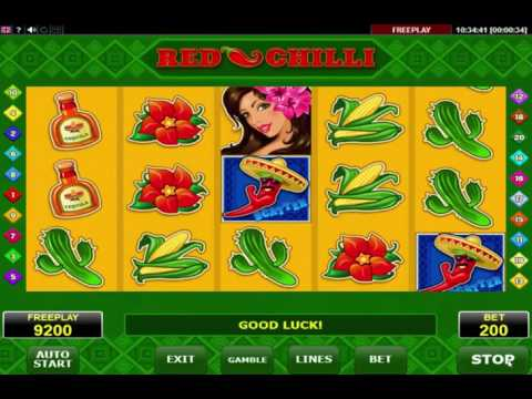 Red Chilli Slot - Play the Free Amatic Casino Game Online