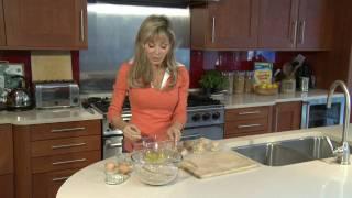 Annabel Karmel makes Salmon Fishcakes