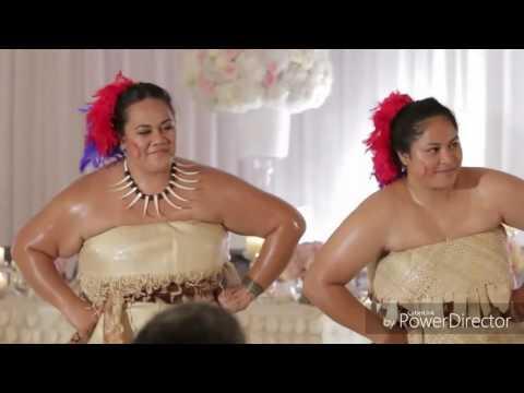 PJ & Amina's wedding - Siva Taupou Samoa