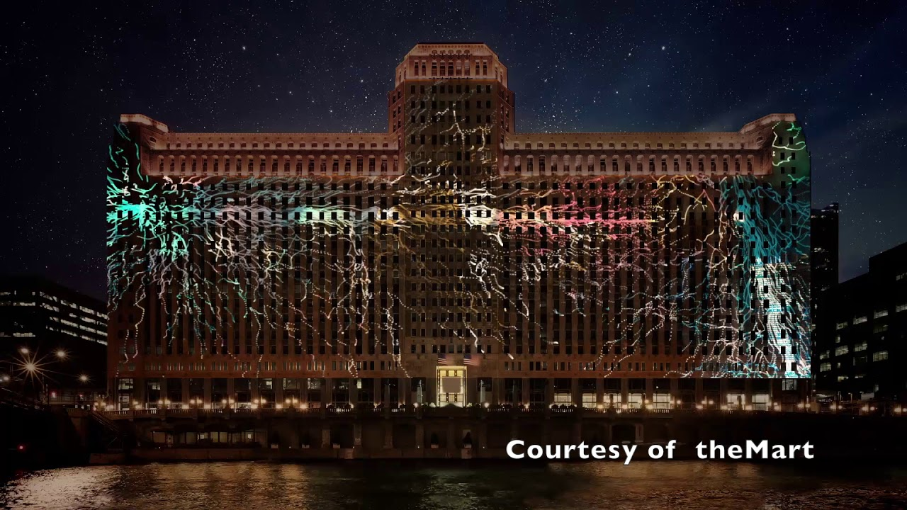 Art on theMart | Chicago.SunTimes.com - YouTube