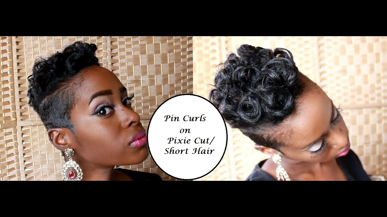 50 Short Hairstyles For Black Women Stayglam Intended Pin Curls African American Hair The Your Haircut