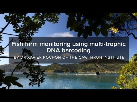 Fish farm monitoring using multi-trophic DNA barcoding