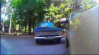 Как Почувствовать Габариты Автомобиля или Как Выехать со Стоянки - Видеоурок Вождения #17