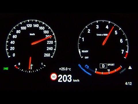 BMW X1 18i 1.5 Turbo Acceleration 0-200 TOP SPEED TEST
