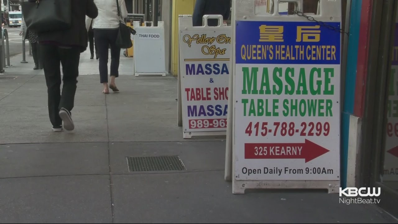 San Francisco Sues Massage Parlor Accused Of Running A Brothel