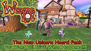 Wizard101 Unicorn Hoard Pack