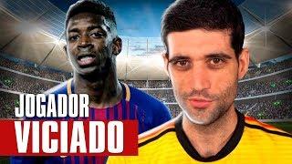 Jogador do Barcelona VICIADO em Playstation, Xbox sem leitor de disco e Epic Games PROCESSADA