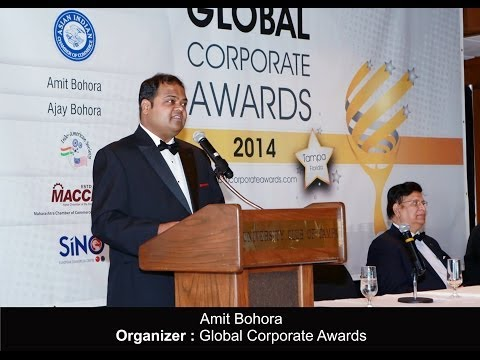The Global Corporate Awards 2014 Ceremony held at Tampa, Florida, USA