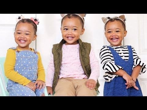 TODDLER LOOKBOOK | Fall Outfits for Toddlers ft. Ziya! (18 months)
