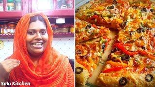 ഇങ്ങനെയും ഒരു Pizza | Easy Tasty Vegetarian Pizza |.Salu Kitchen Specials