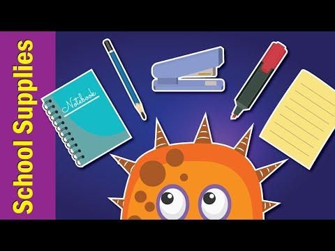 School Supplies Song for Kids | What Do You Have? Song | Fun Kids English