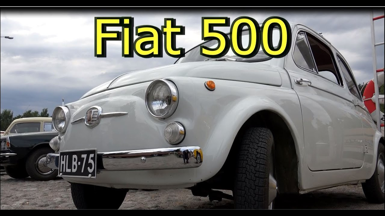 1963 Fiat 500 D -Old Classic Car - YouTube