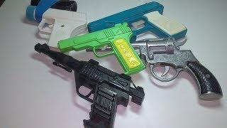 Смотрим игровые пистолеты из советского детства и 90-х