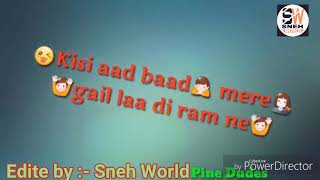 Aaj Meri Jaan Rush Gi Kbhi Bola Krti Mona Nona Love Status 2018 By Sneh World