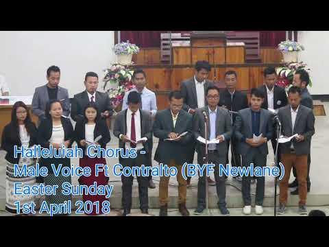 Halleluiah Chorus - Male Voice Ft Contralto ( BYF Newlane)