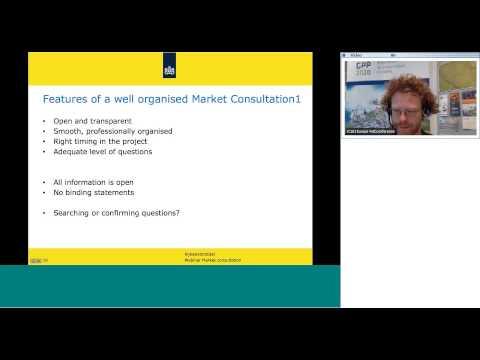 Procurement webinar series: GPP 2020 webinar on market engagement, part 2