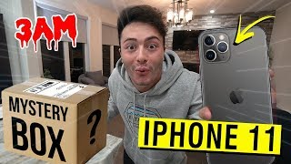 WE BOUGHT AN IPHONE 11 from the DARK WEB and FOUND THIS on it!!