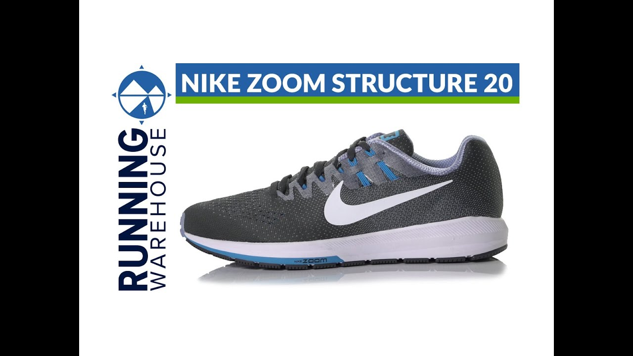 ea96fde1b04 Nike Zoom Structure 20 Men - YouTube