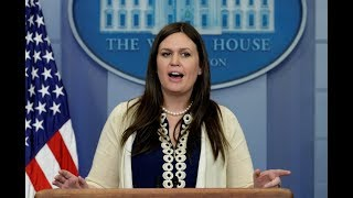 FULL: Sarah Sanders White House Press Briefing on President Donald Trump Latest News 11/16/17 WATCH