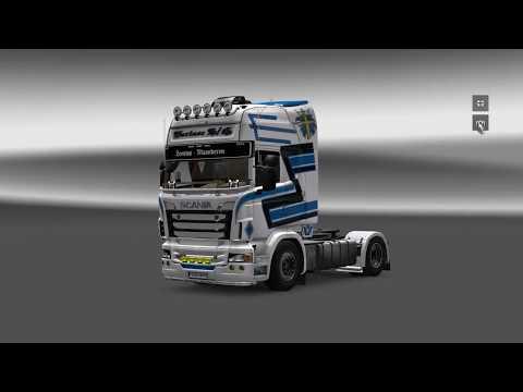Euro Truck Simulator 2-Customization Scania R