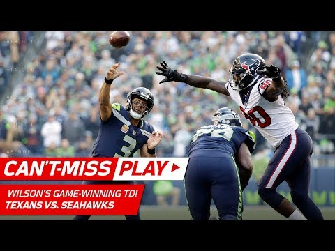 Russell Wilson Leads Amazing Game-Winning TD Drive! | Can