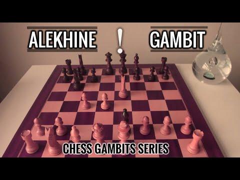 The Alekhine Gambit! | Chess Gambits : chess