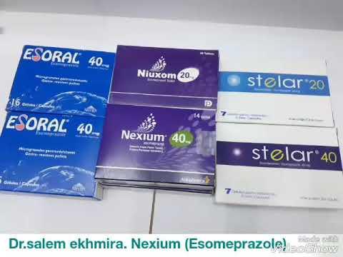 دواء نيكسيم  (Nexium).(Esomeprazol).