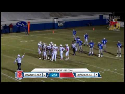 Chambers Academy vs. Lowndes Academy 11/11/16 (W 41-16) Part 2