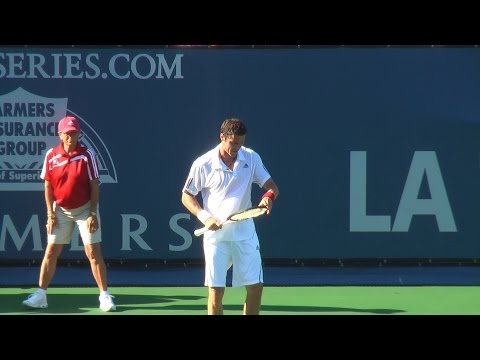 2009 Ernests Gulbis Vs Marat Safin 2nd Round LA Tennis Open 1080 AVCHD