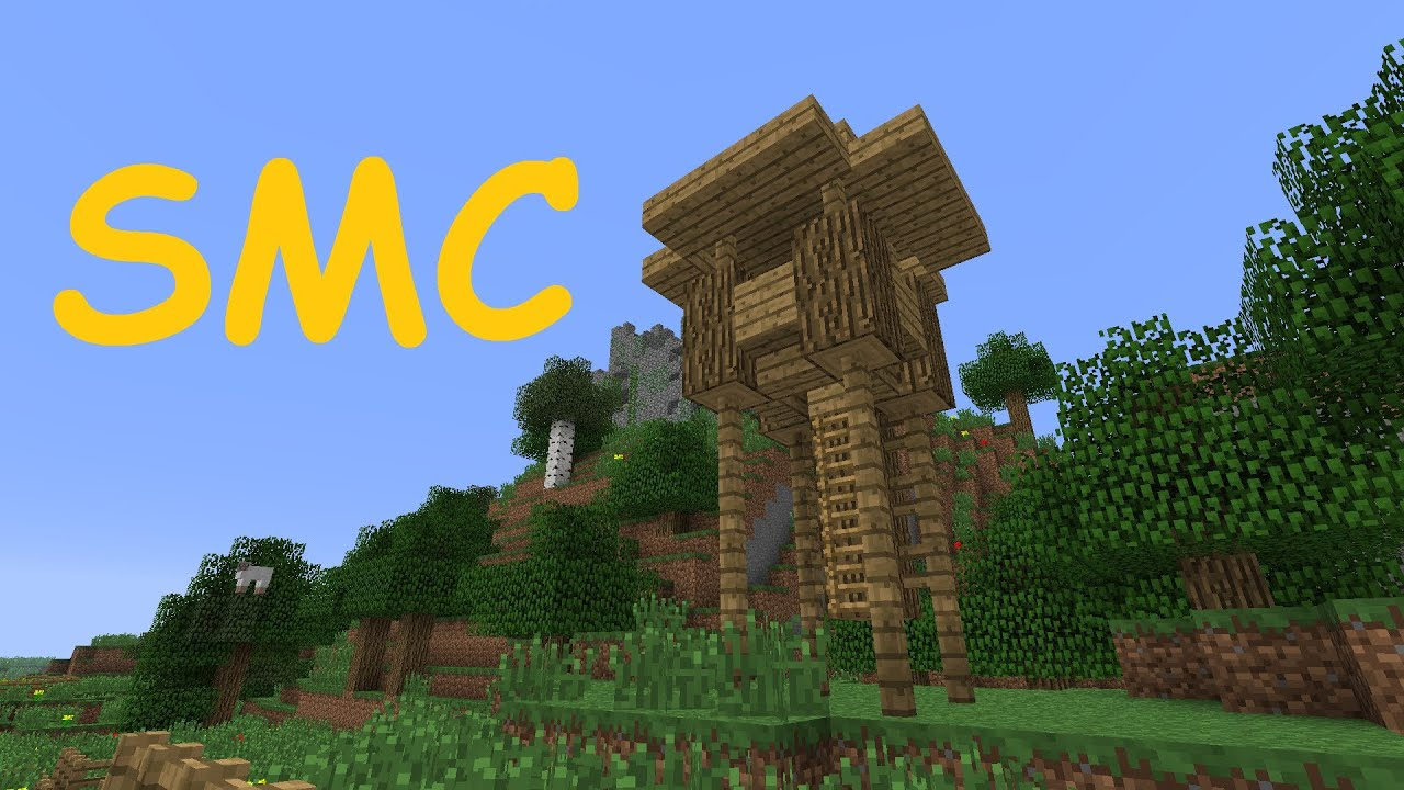 Simis Mini Creations In Minecraft Jägerstand Tutorial YouTube - Minecraft nutzliche spielerkopfe