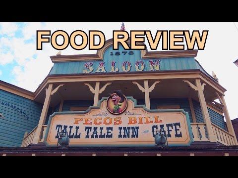 FOOD REVIEW - New PECOS BILL Tall Tale Inn & Cafe Menu - Frontierland - Disney World - Magic Kingdom